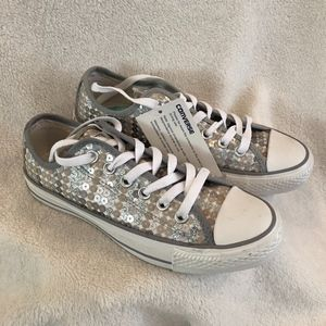 Sequin Converse Sneakers NEW!